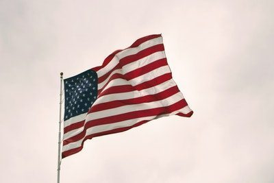 アメリカの旗の画像