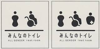 「みんなのトイレ」と書いてある画像