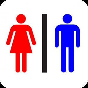 男性と女性を表すロゴ