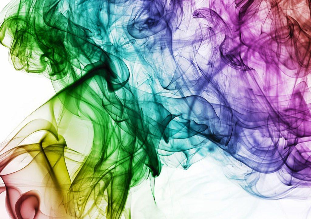 虹色のもやもや