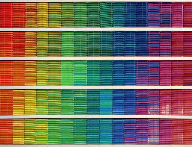 虹色、そしてそれぞれのグラデーション