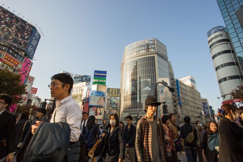 渋谷の人たち
