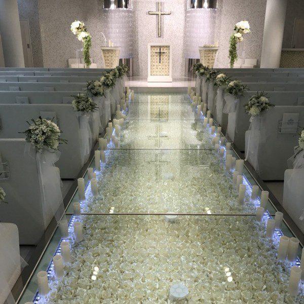 結婚式場の様子