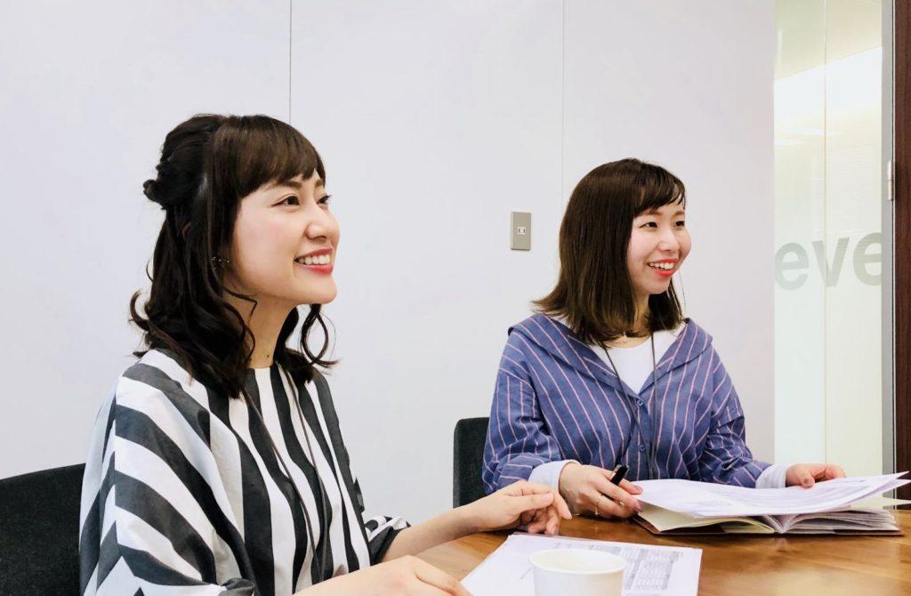 二宮さんと上野さんが笑っている画像