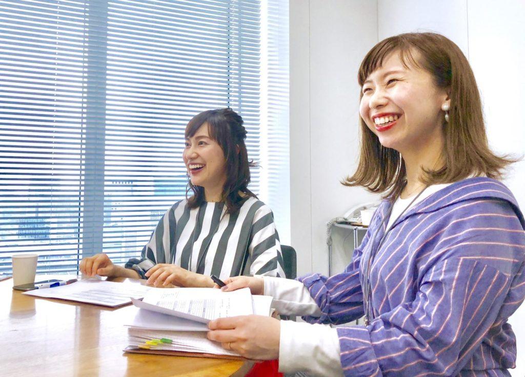 二宮さんと上野さんが笑顔でいる画像