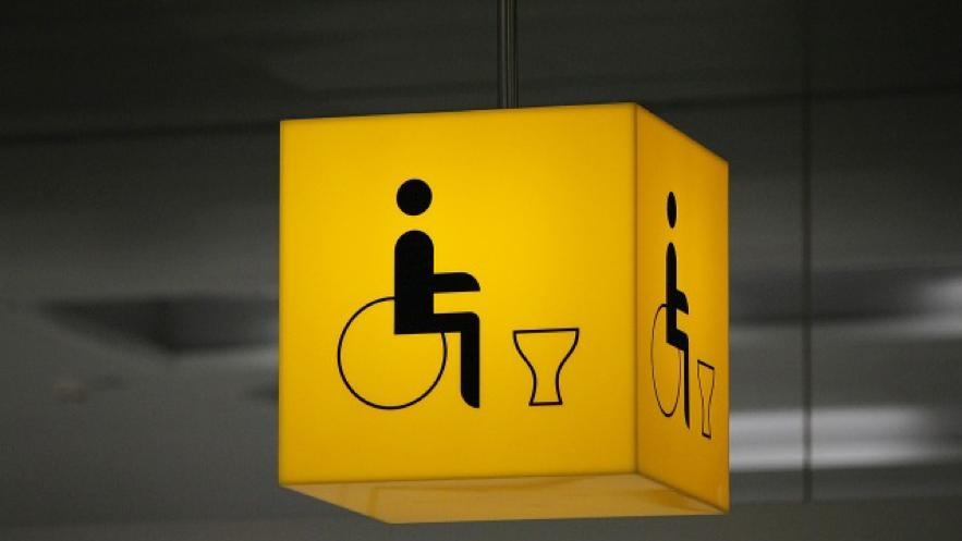 車椅子のピクトグラム