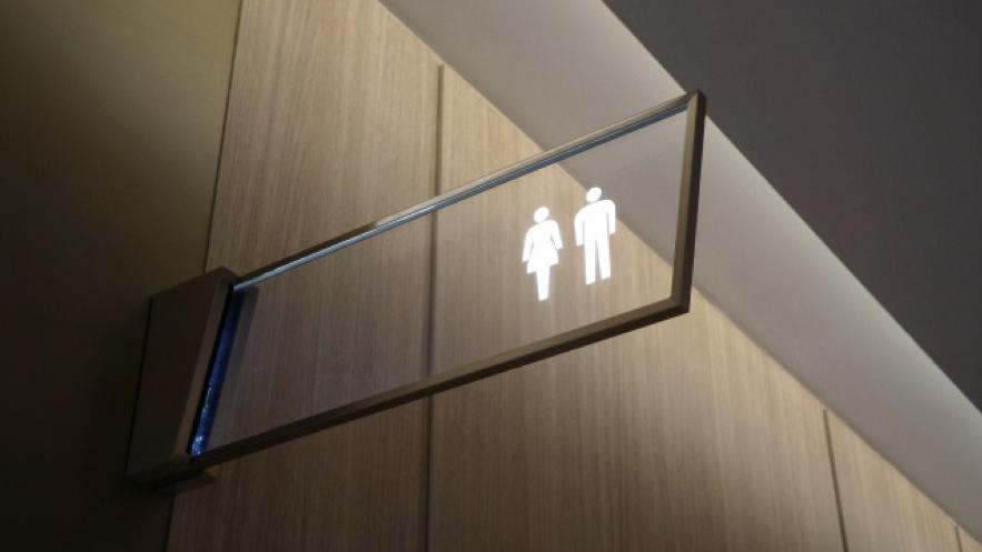 男女のトイレのピクトグラム