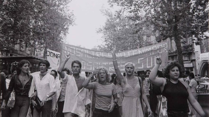 バルセロナでのゲイ・パレード