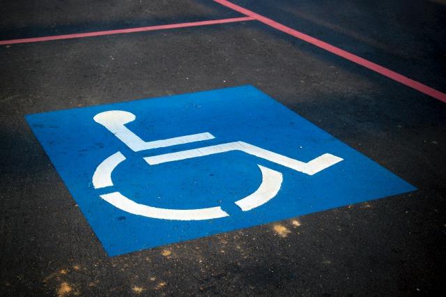 車椅子専用駐車場